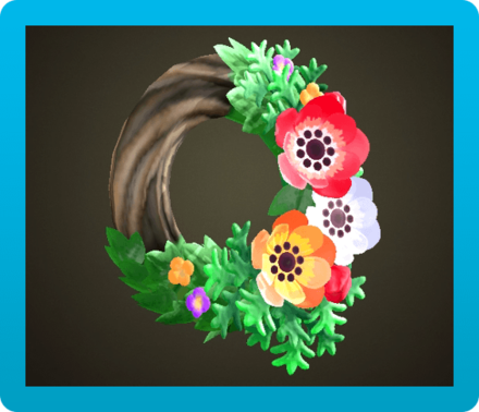 Windflower Wreath Icon