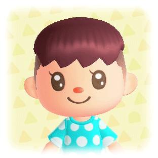 ポップな髪型4