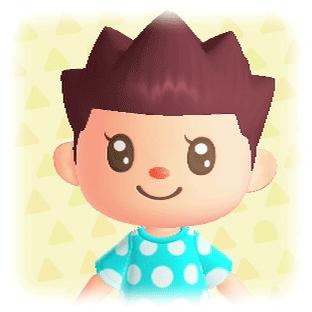 ポップな髪型6