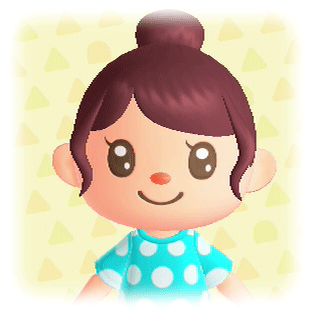 ポップな髪型7