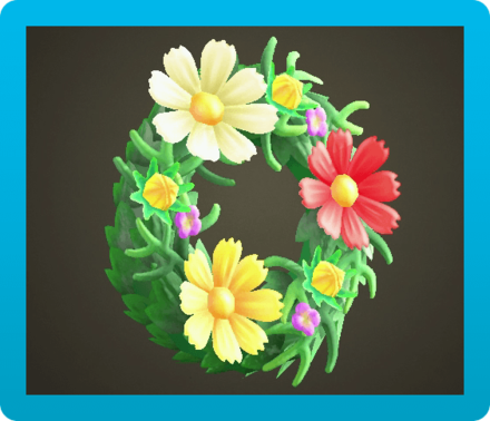 Cosmos Wreath Icon