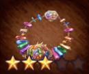 虹光石のペンダント
