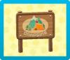 キャンプ場の看板の画像