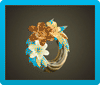 Lily Wreath Icon