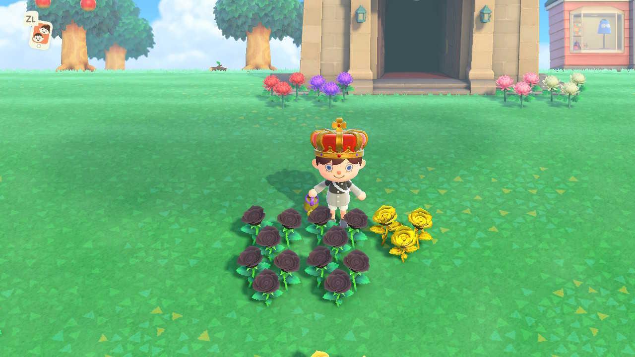の 交配 あつ 森 配置 花