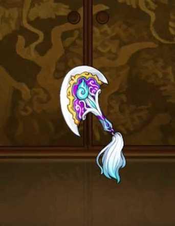 紫狐神の呪鉄扇の画像