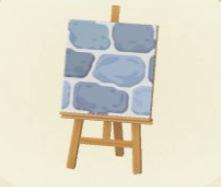 ベネチアの青い石畳の画像