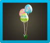 Bunny Day Merry Balloons Icon
