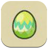 Leaf Egg Icon