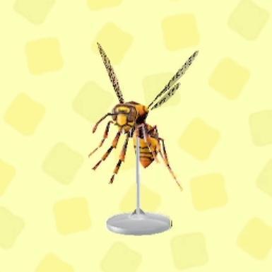 ハチの模型