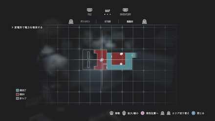 ダウンタウンのマップ