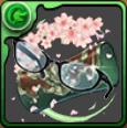 ヴァレリアの伊達メガネの画像