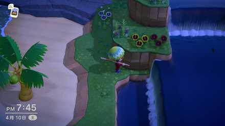 滝がたくさんある島