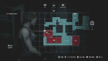 キーピックリネン室マップ