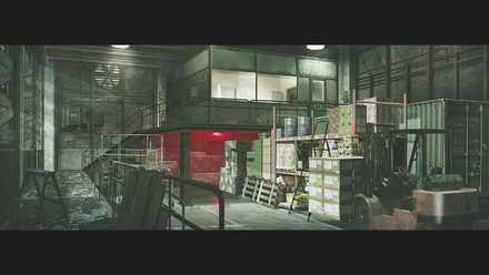 コンセプトアート14−ダリオの倉庫