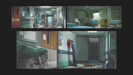 コンセプトアート20−病院