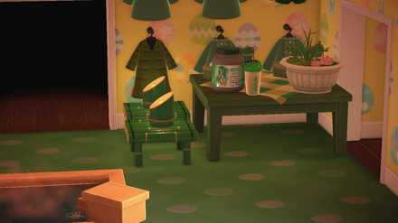小さな家具を設置してスペースを稼ごう