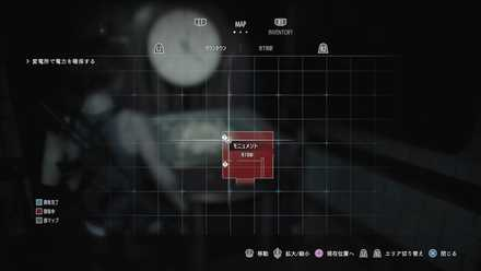 時計台のマップ