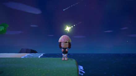 あつ森 流れ星 流れない