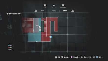 職員へのマップ