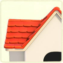 赤い瓦屋根