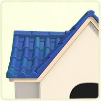 青い洋瓦の屋根