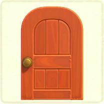 木組みのドア