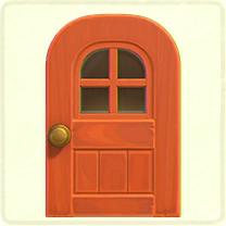 窓付きのドア