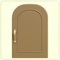 ベージュのシンプルなドア