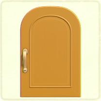 黄色いシンプルなドア