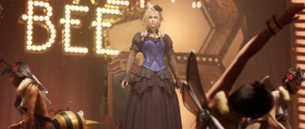 クラウドのドレス衣装
