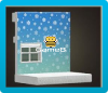 Snowflake Wall Icon