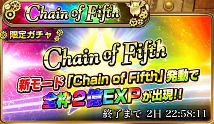 Chain of Fifth