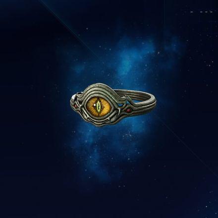 カエルの指輪の画像