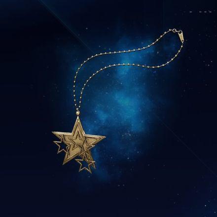 星のペンダントの画像