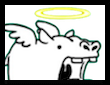 天使カバちゃん画像