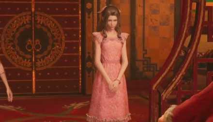 エアリスピンクドレス