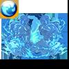 【神】絶対災禍 双魔神カタストロフィーズ・水のアイコン