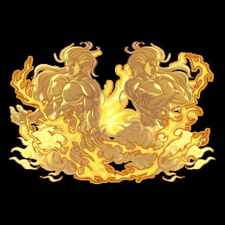 【神】絶対災禍 双魔神カタストロフィーズ・光の画像