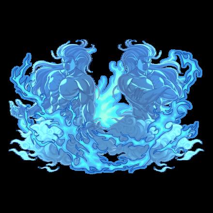【神】絶対災禍 双魔神カタストロフィーズ・水の画像