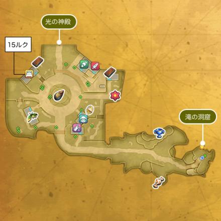 聖都ウェンデルのマップ