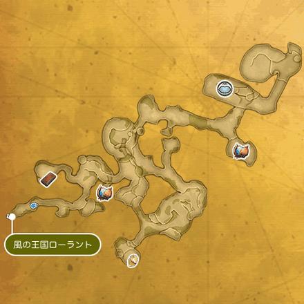 天の頂のマップ