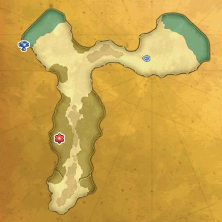 忘却の島のマップ