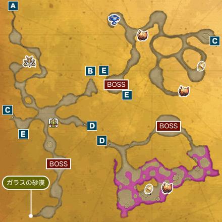 ドラゴンズホールIのマップ