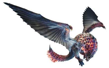 Monster Hunter World Seething Bazelgeuse