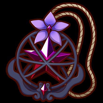 落花桔梗の画像