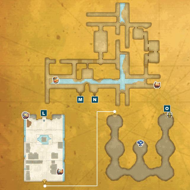 アニスの禁域I(魔法王国アルテナ・街)のマップ