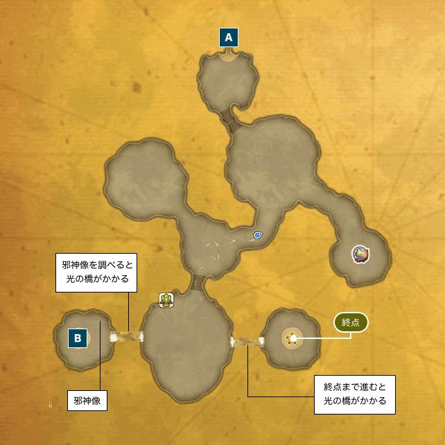 アニスの禁域のマップ