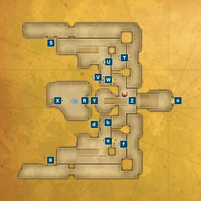 アニスの禁域I(ビーストキングダム)のマップ