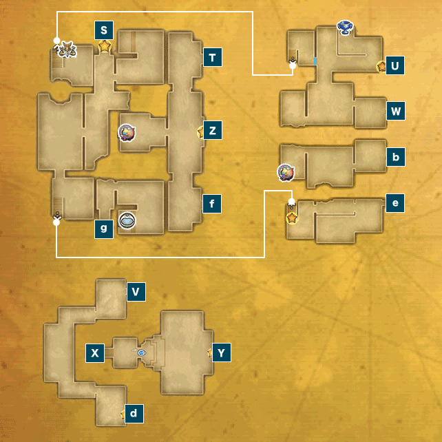 アニスの禁域Ⅱ(ビーストキングダム)のマップ
